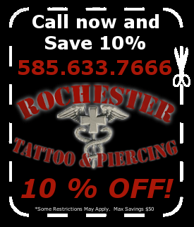 Rochester Tattoo & Piercing Coupon